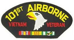 101st Airborne Vietnam Veteran Patches